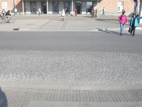 Olomouc Train Station Transport Hub, Czech Republic - Crossings Towards Main Station Entrance